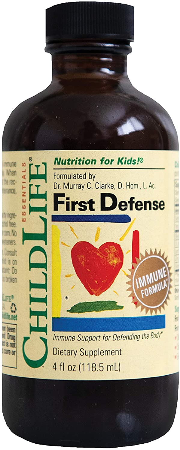 ChildLife Essentials First Defense for Infants, Babys, Kids, Toddlers, Children, and Teens, 4-Ounce (3 Count)