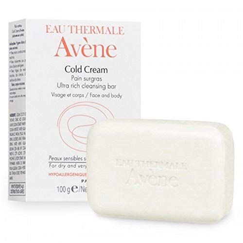 AVENE Ultra Rich Cleansing Bar 100g -Helps mildly cleanse and hydrate skin with a non-stripping formula