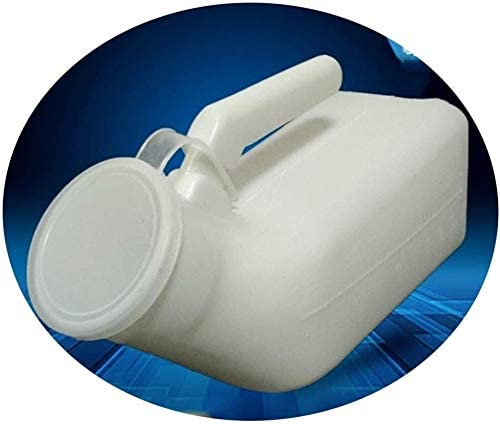 JN Urinal Urinal Male Urinal, Easy to Carry, Urinal with Lid, Easy to Clean, Anti-Odor, Anti-Leakage, Suitable for The Elderly Unisex Urinal