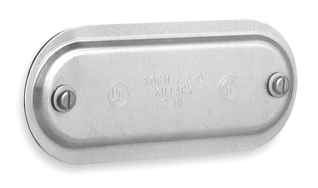 KILLARK 670 for Conduit Body, 53, Cover, 2INCH Form