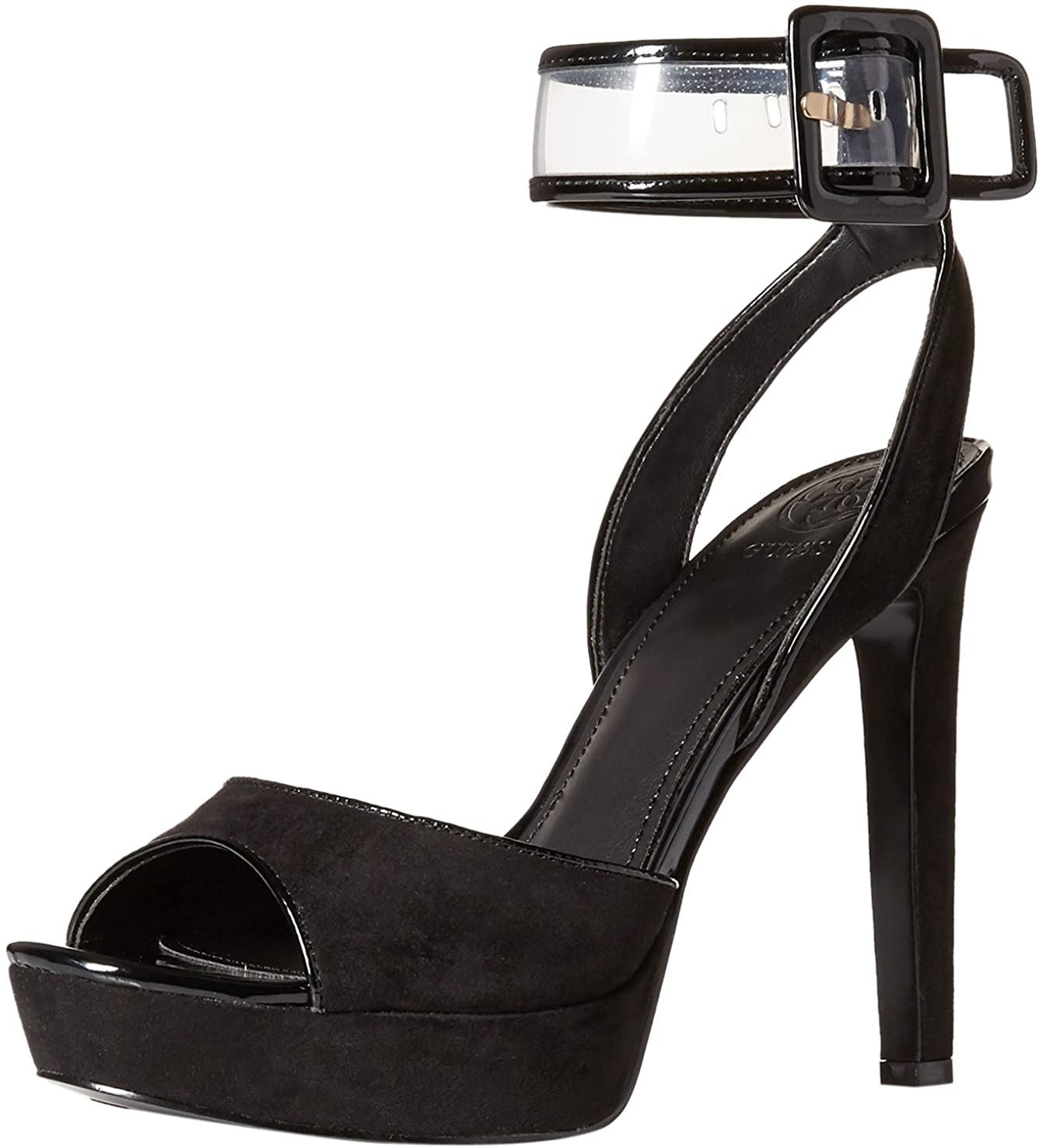 GUESS Women's CATANA Heeled Sandal