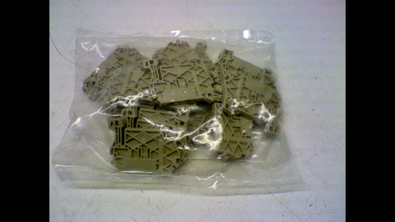 Weidmuller Zew E -Pack of 20- Terminal Block End Bracket 954000000 Zew E -Pack of 20-