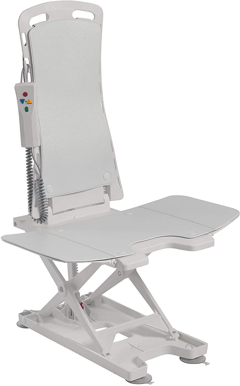 Drive Medical Bellavita Auto Bath Tub Chair Seat Lift, White