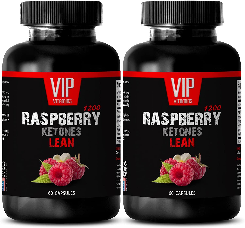 Fat Burning Supplements for Women - Raspberry Ketones Lean 1200MG - Raspberry Ketone fit - 2 Bottles (120 Capsules)
