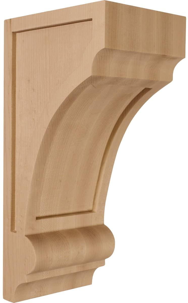 Ekena Millwork CORW05X06X12DIRO-CASE-2 Corbel, Factory Primed