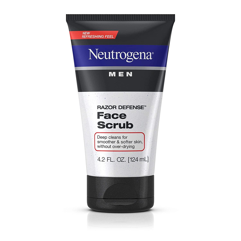 Neutrogena Men Razor Defense Face Scrub 4.20 oz