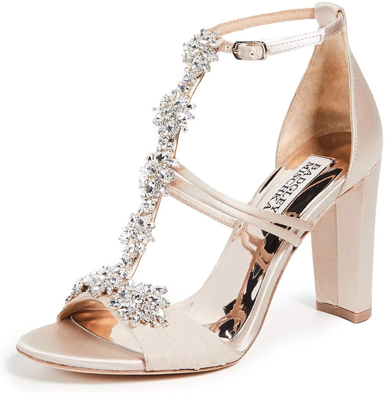 Badgley Mischka Women's Laney T-Strap Sandals