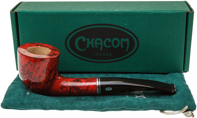 Chacom Atlas Red F4 Tobacco Pipe