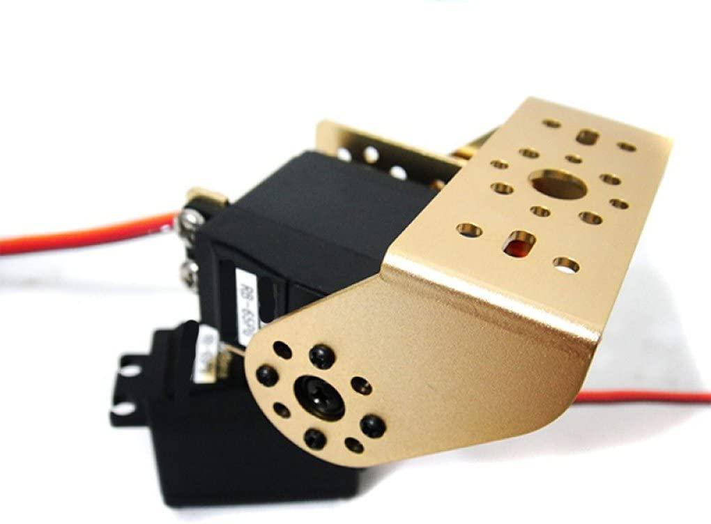 Cloud Sensor Rb 65Pg Pan And Tilt Kit With Aluminum Offset Servo Bracket Gold
