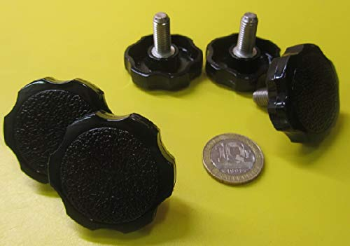 18-8 SS Rosette Head Thumb Screws, Fully Threaded, 5/16