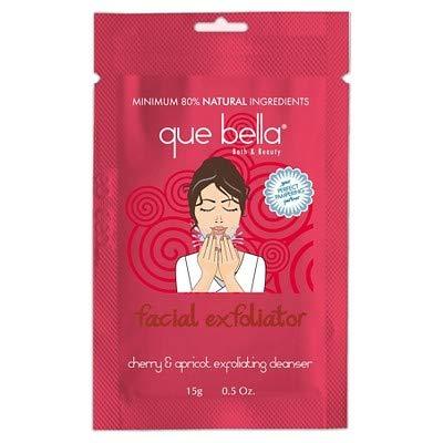 Que Bella Cherry & Apricot Facial Exfoliator Cleanser - 0.5oz