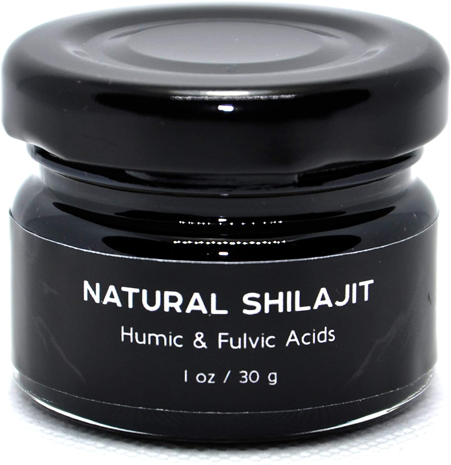 Shilajit Supplement. Rich Fulvic & Humic Acid. Super Food. Lab Tested for Safety.