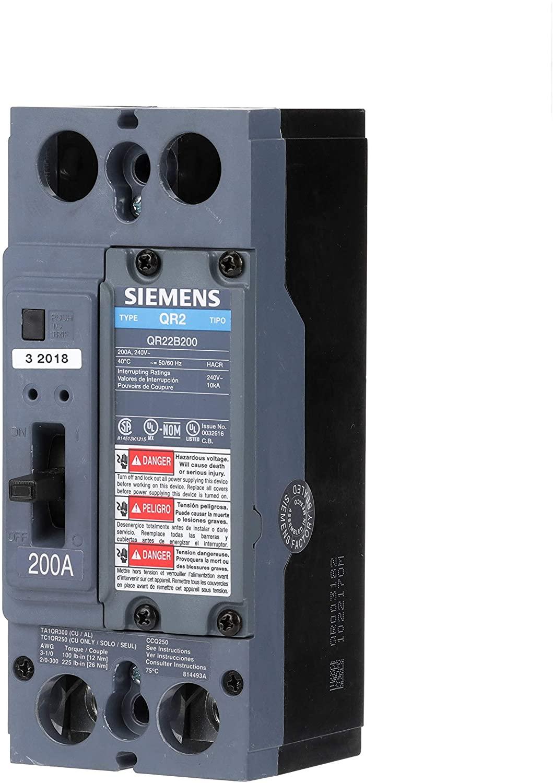 Siemens US2:QR22B200 Molded Case Circuit Breaker