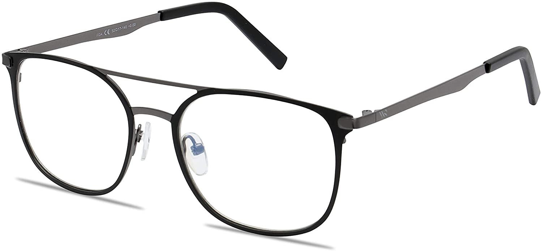 Blue Light Blocking Computer Glasses by WealthyShades-Sleep Better, Reduce Eyestrain & Fatigue When Working on Digital Screens