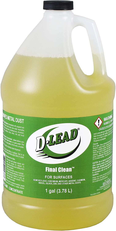D-Lead Final Clean Decontamination Concentrate (1 Gallon)