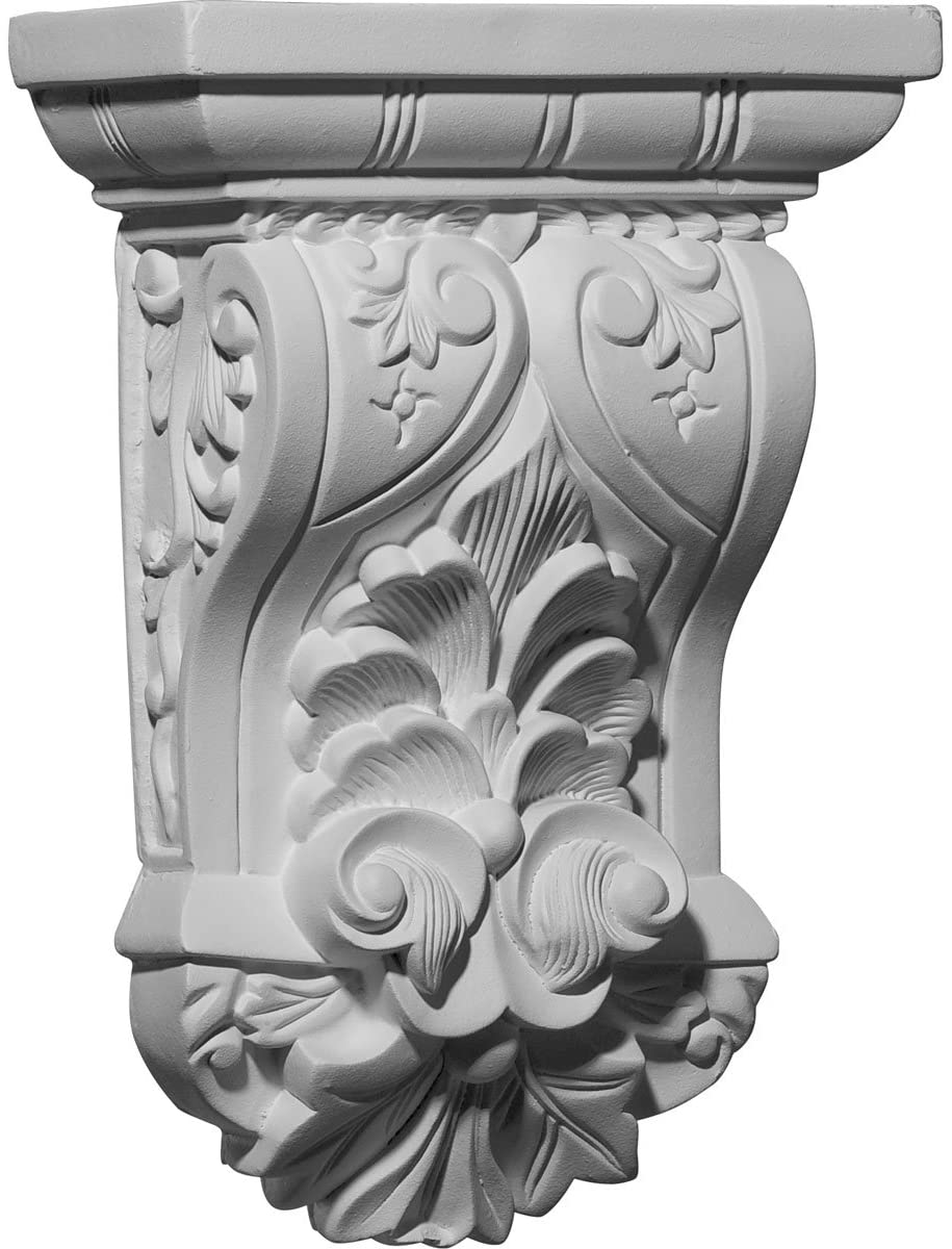 Ekena Millwork COR07X03X10NA-CASE-4 Corbel, Factory Primed and Ready for Paint