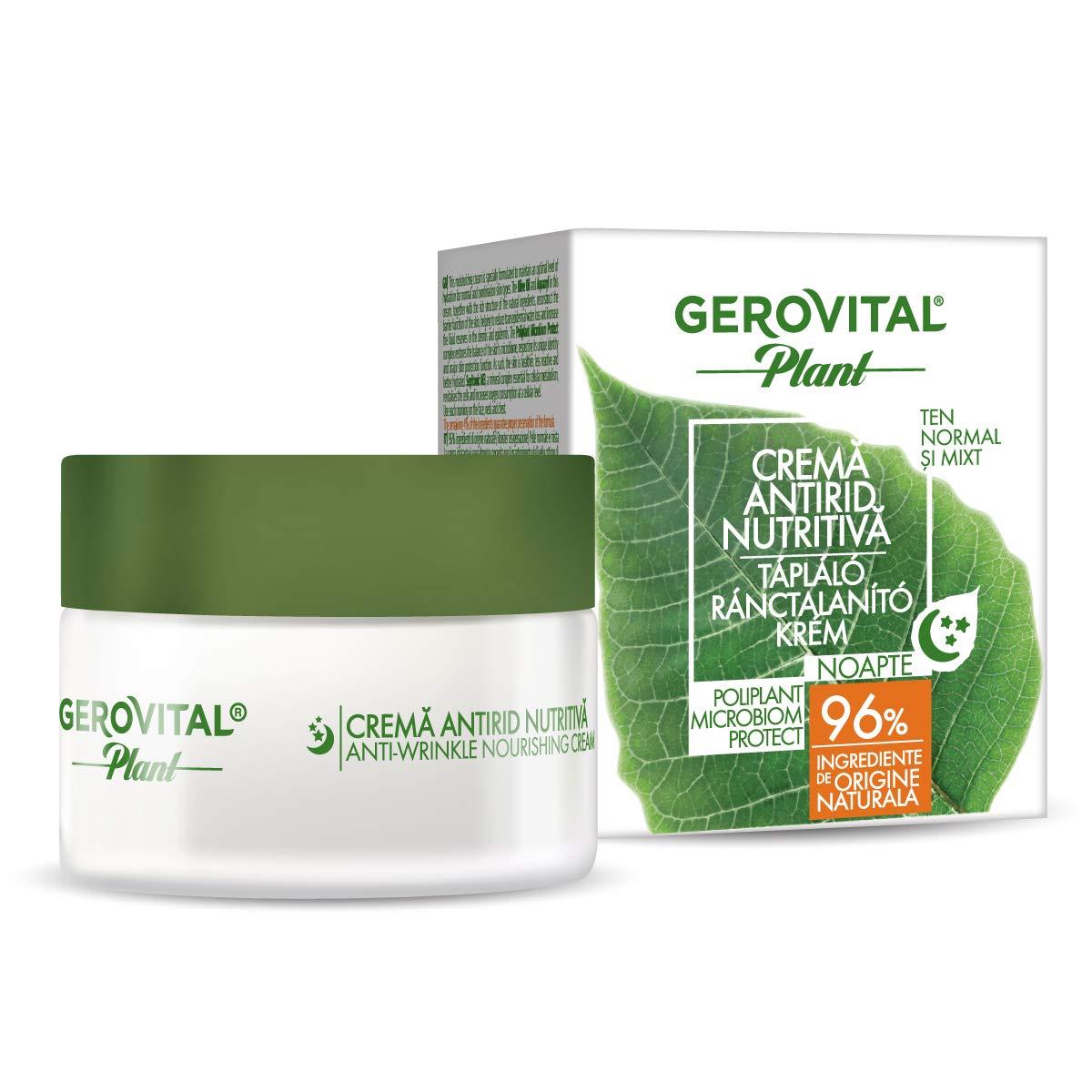 GEROVITAL PLANT ANTI-WRINKLE NOURISHING CREAM 50 ml / 1.69 fl.oz.