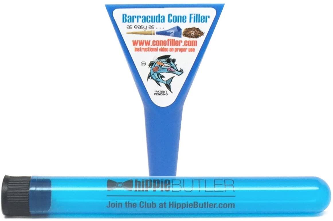 Barracuda Cone Filler with Hippie Butler XL KewlTube