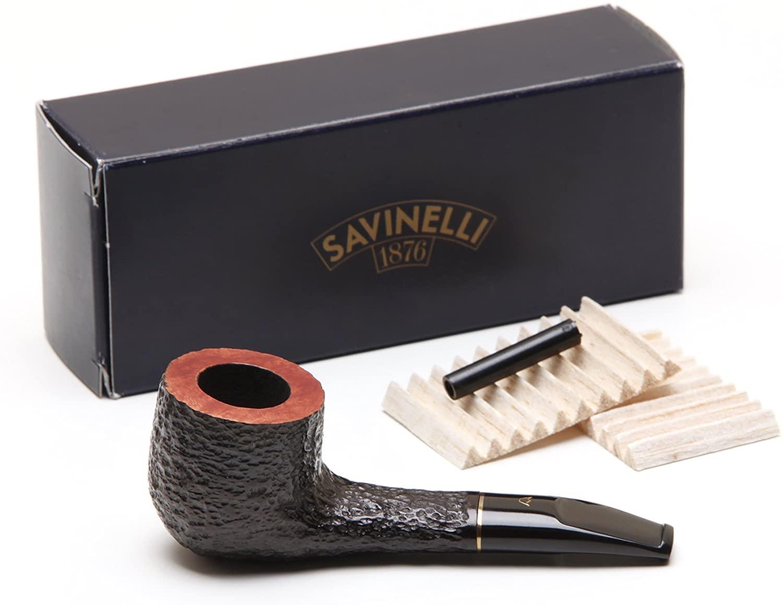 Savinelli Lolita Rustic Briar 02 Tobacco Pipe