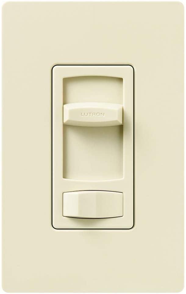 Lutron CT-603PGH-AL Contour Inc Eco Clam Almond