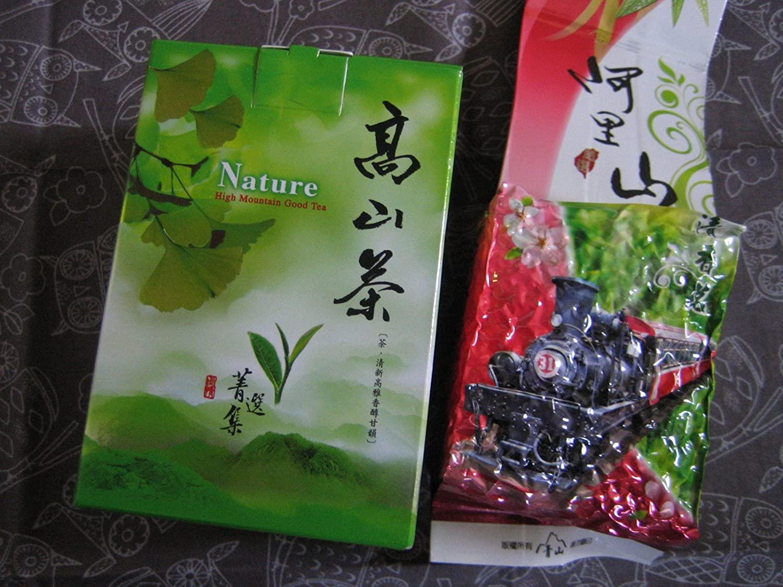 Green Tea Taiwan High Mountain Tea Winter Tea -Ali-Shan Tea Loose Leaves Random Pick Roasted Tea 5.5 Oz