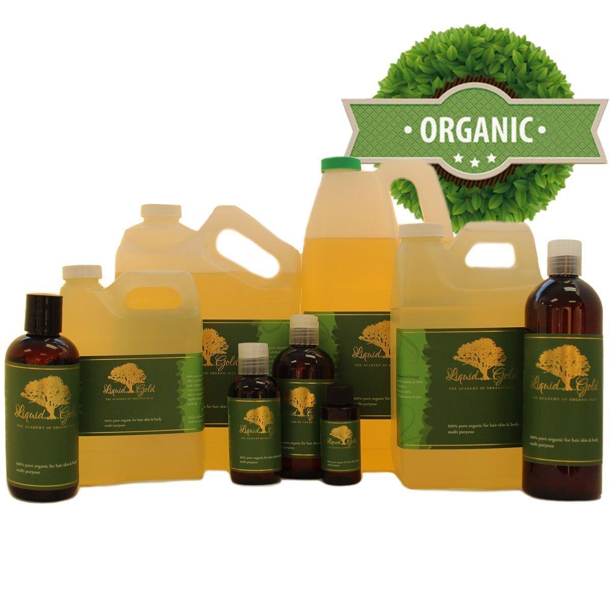 16 fl.oz Premium Liquid Gold Mongongo/Manketti Oil Pure & Organic Skin Hair Nails Health