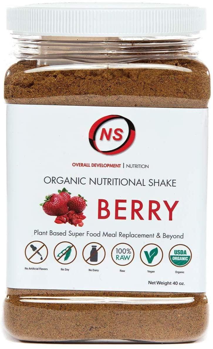 Overall Development Organic Nutritional Shake - Berry