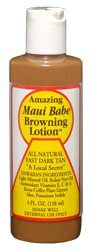 Maui Babe - Browning Lotion - 4 oz, (buy 8 get 2 free) by Maui Babe