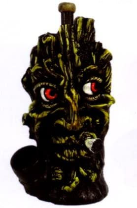 The Smokin Tree FACE Smoking Collectible Novelty Tobacco Pipe