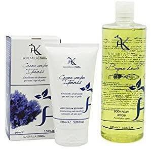YUMIBIO Gift Set - ALKEMILLA - Delicate Shower Gel Ipnosis - Ipnosis Revitalising Body Lotion for Sensitive Skins