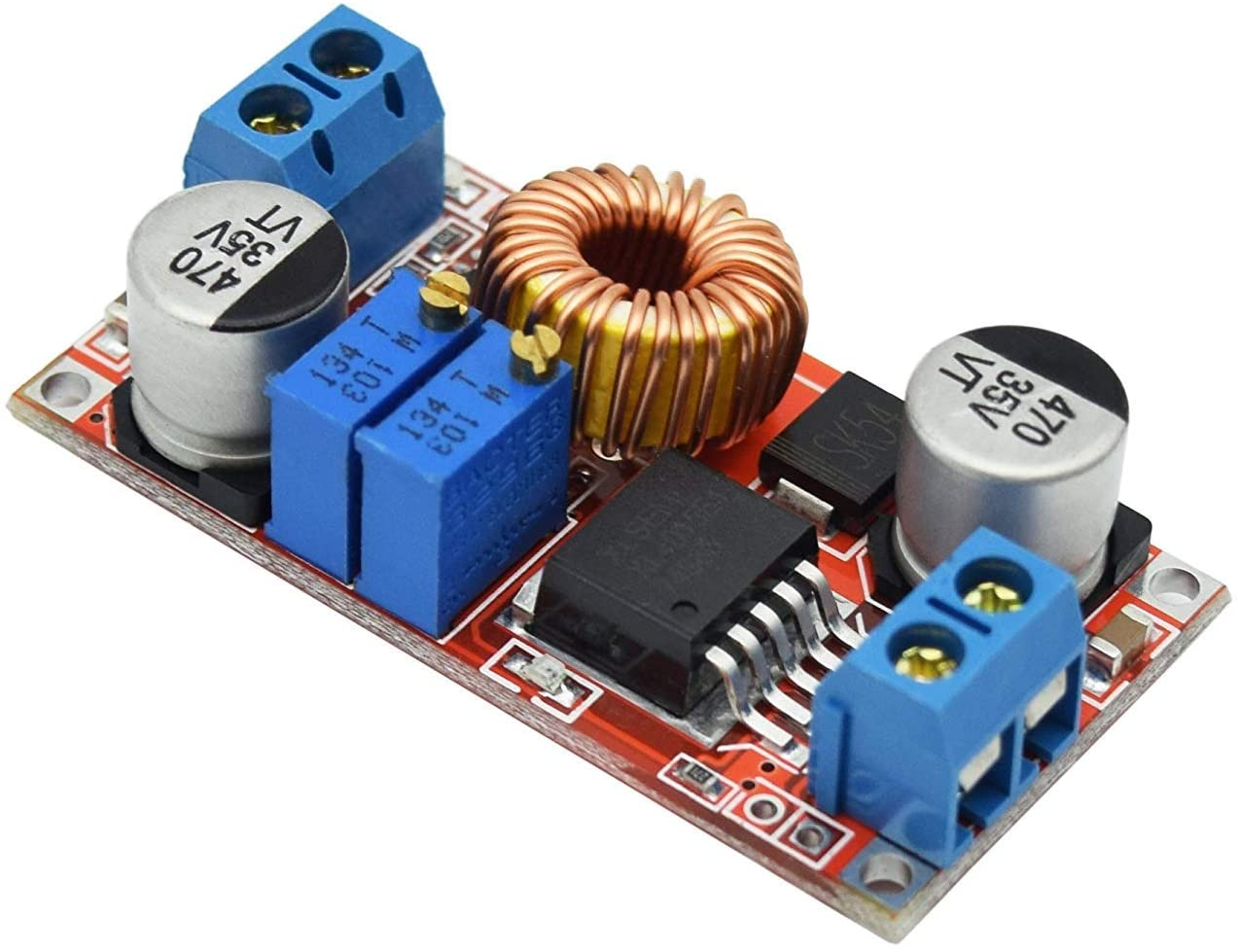 ARCELI 5A Constant Current LED Driver Module Battery Charging Voltage DC-DC 5-32V to 0.8-30V Power Supply Module for Arduino