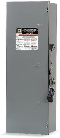 SCHNEIDER ELECTRIC 240-VAC 30-AMP DTU321 SW NOT FUSIBLE DT 240VAC 30A 3P NEMA1