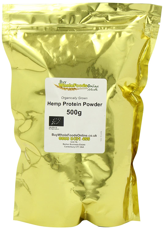 Buy Whole Foods Organic Hemp Protein Powder 500 g