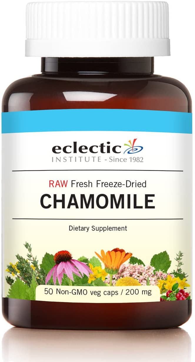 Eclectic Chamomile Cog FDV Glass, Blue, 50 Count
