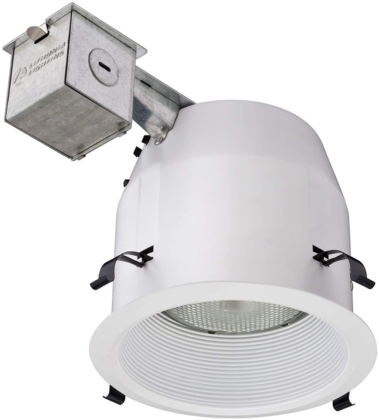 Lithonia Lighting LK5BMW M6 5 Inch Baffle Kit with Halogen Lamp Included in White