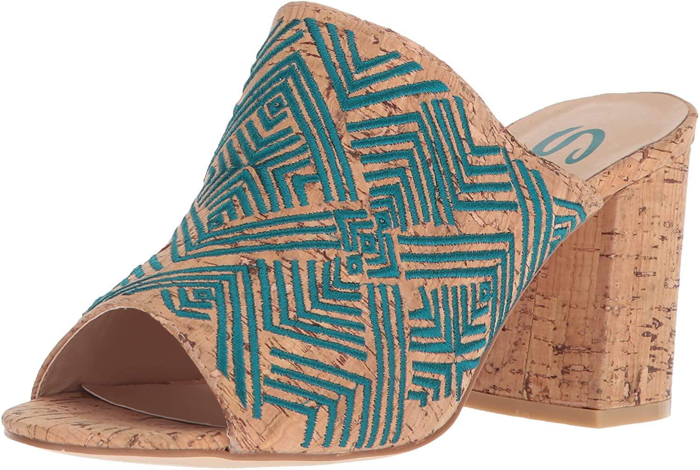 Sbicca Womens Paraiso Heeled Sandal