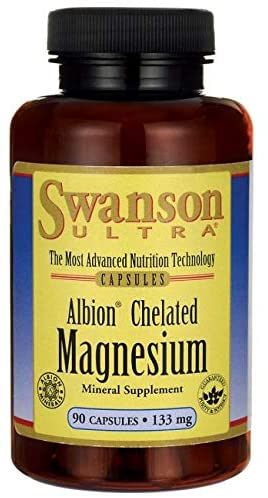 Swanson Ultra Albion Chelated Magnesium (133mg, 90 Capsules) by Swanson