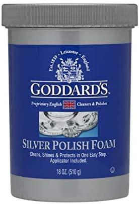 Goddard's Silver Polish Foam- Paste 18oz, Case of 6