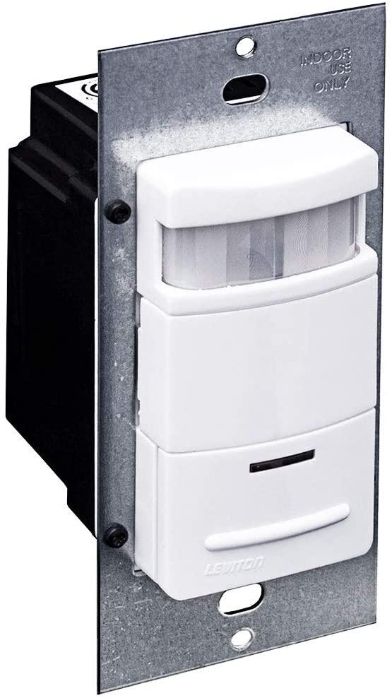 Leviton ODS10-IDW Decora 120/277-Volt Wall Switch Occupancy Sensor, White