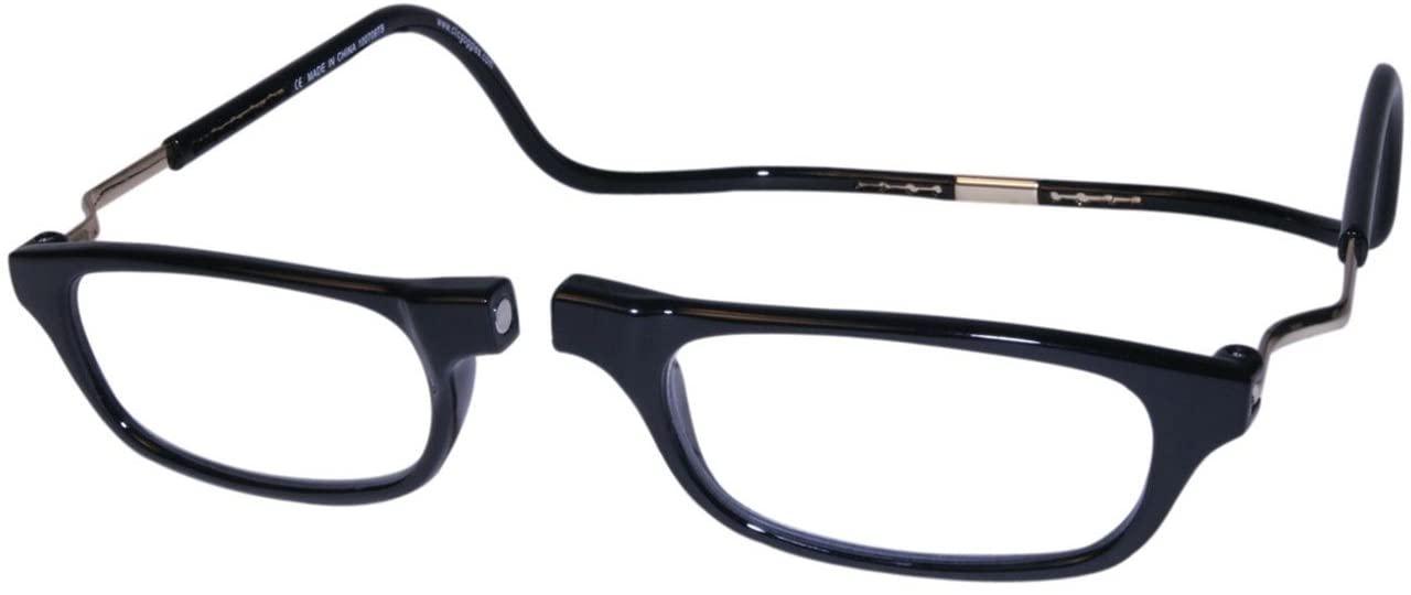 Clic Readers Reading Glasses Reading Glasses - Clic Readers Expandable Black XXL / Black