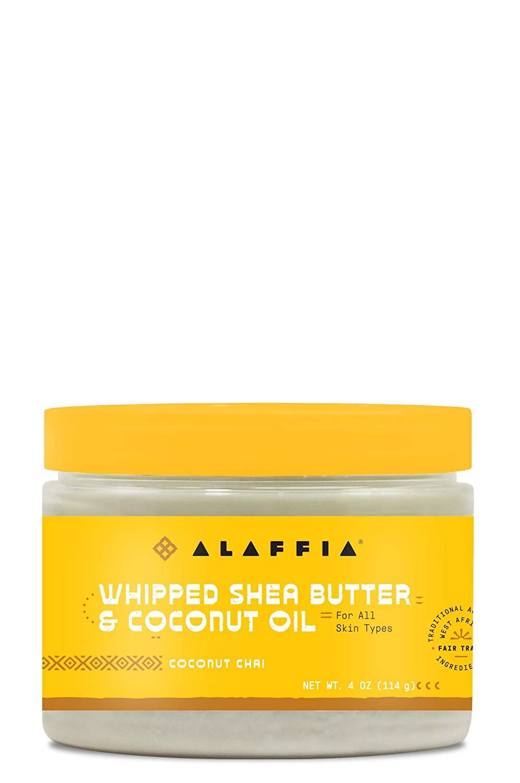 Alaffia Whipped Shea Butter & Coconut Oil Coconut Chai, 4 Ounce