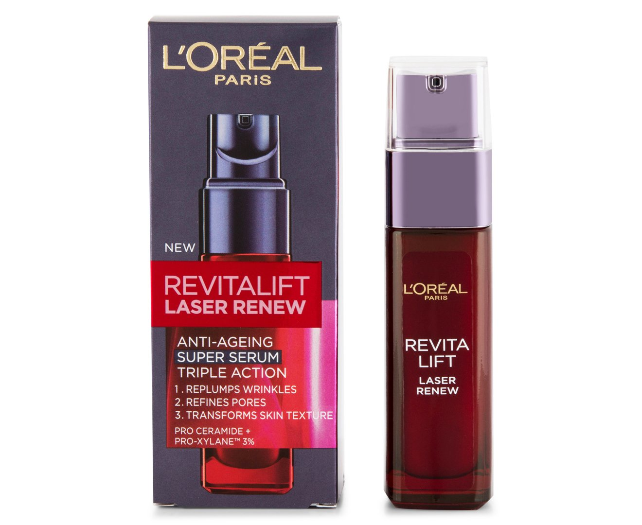L'Oreal New Revitalift Laser Renew Serum (Aka. X3) 30ml/1oz