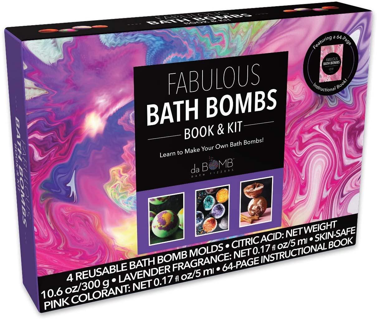 da Bomb Rock Point Bath Soaks Book & Kit