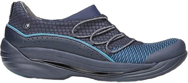 BZees Pisces Women's Slip On Shoes (7.0 B(M) US, Navy)