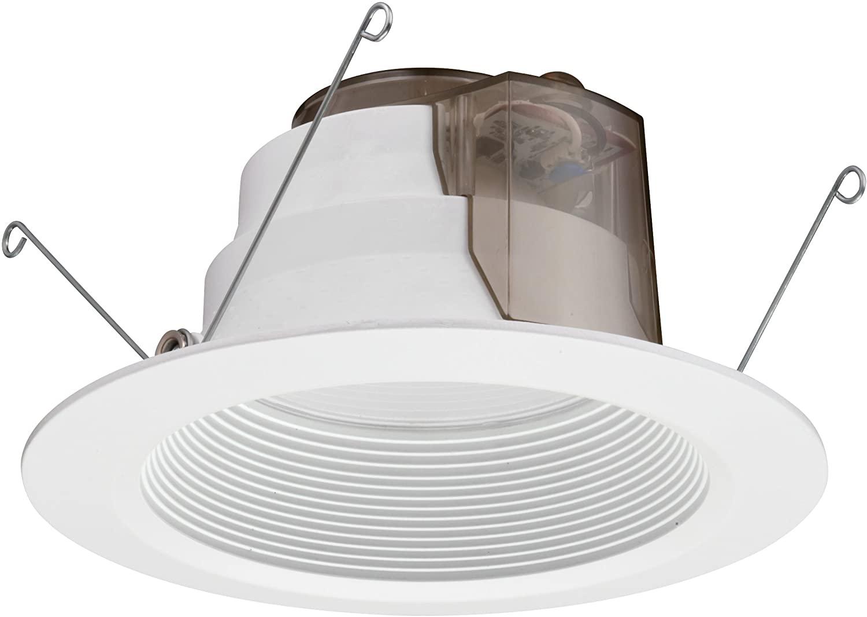 Lithonia Lighting 6BPMW HL LED M6 5/6 Inch 12W White High Output LED Recessed Baffle Module, 3000K