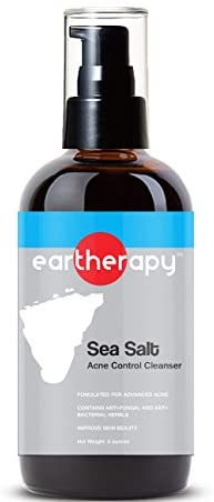 Sea Salt Problem Skin Acne Cleanser (Reduce Outbreaks, Deep Pitted Acne, Blackheads, Pimples)