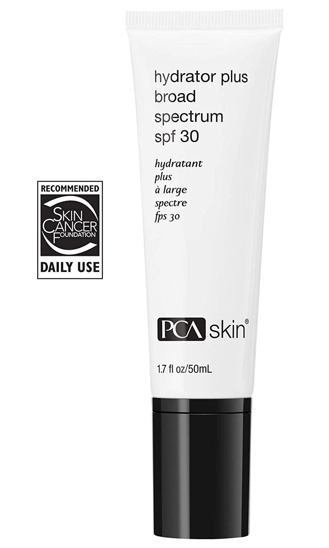 PCA Skin Hydrator Plus Broad Spectrum SPF 30, Zinc Oxide Daily Moisturizing Facial Sunscreen