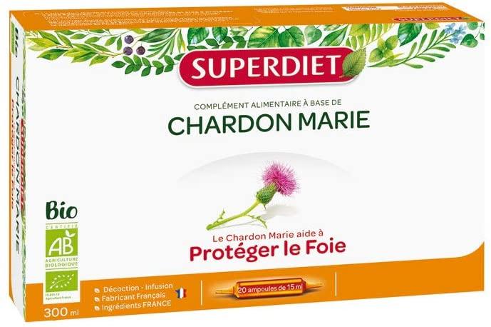Super Diet Organic Milk Thistle 20 Phials