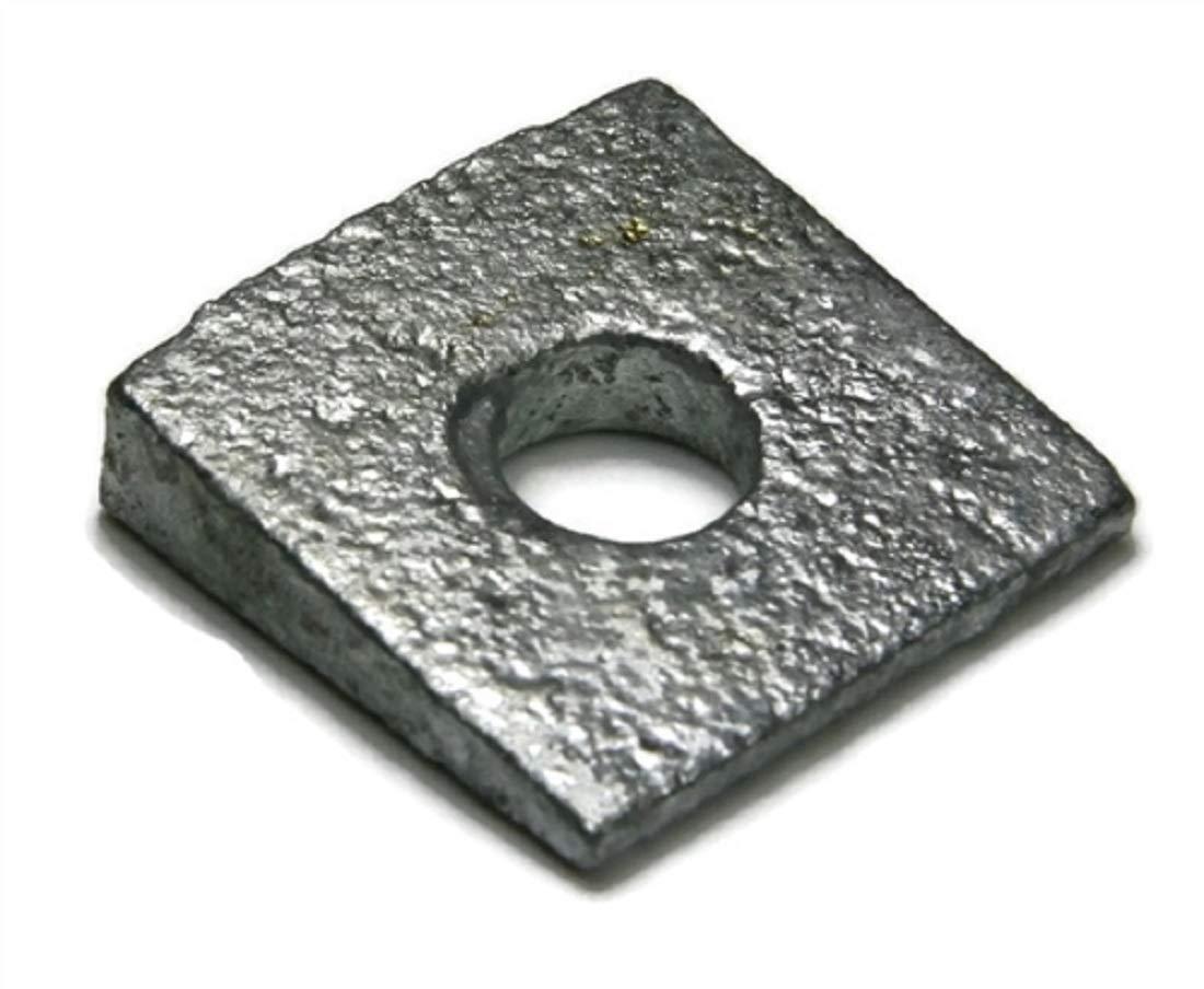 Beveled Square Washers Hot Dipped Galvanized 5/8