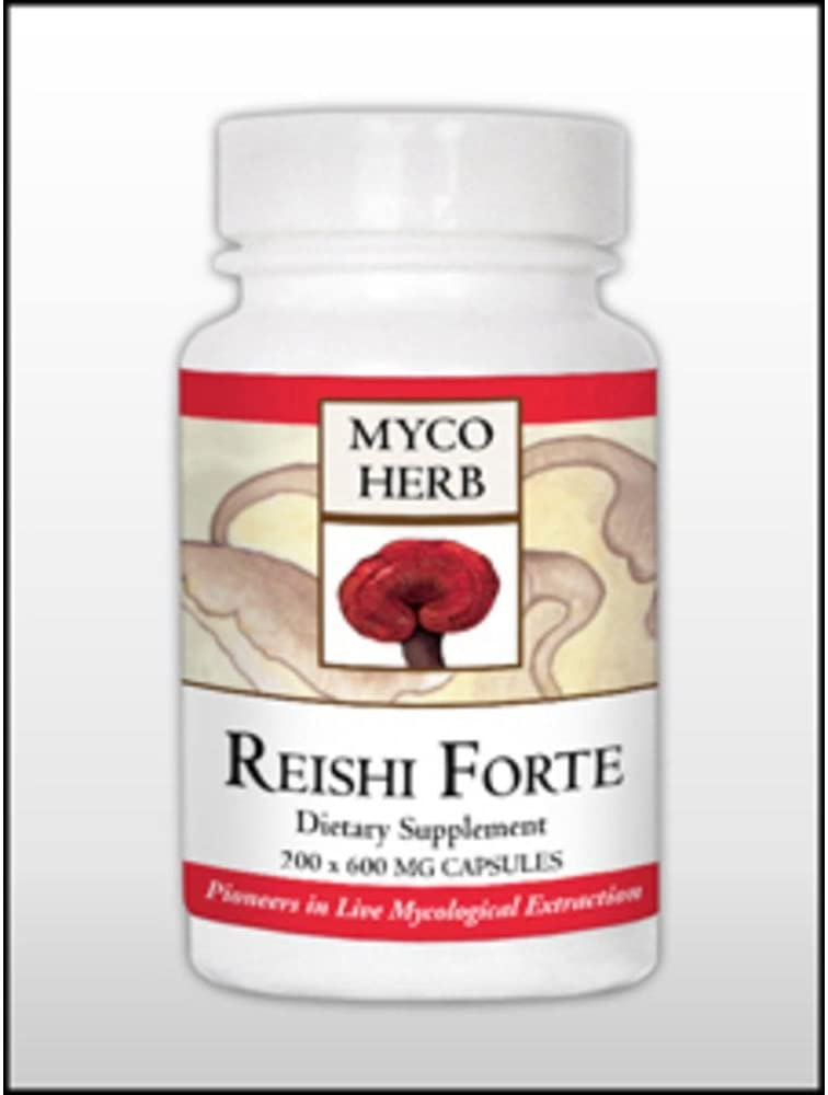MycoHerb by Kan, Reishi-Forte 200 caps